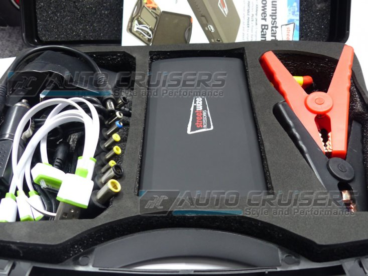 12v 3000cc 400A Portable Emergency Car Battery Jump Starter - Click Image to Close