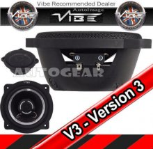 Vibe Slick 5, 5.25'' 210w 2 way Coaxial Car Speakers