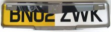 Chrome Car Number Plates Trims/Surrounds/Frames