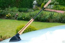 Bronze Copper 3in1 Bee Sting Car Aerial Insert Mast