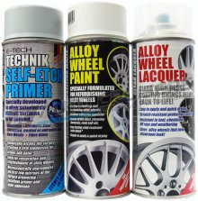 Car White Alloy Wheel Spray Paint Kit