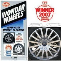 CarPlan Wonder Wheels Alloy Wheel Cleaner Kit - 500ml