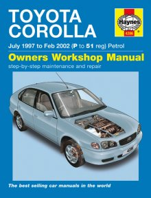 Haynes Repair Service Manual-Toyota Corolla Petrol (June 97 - 01