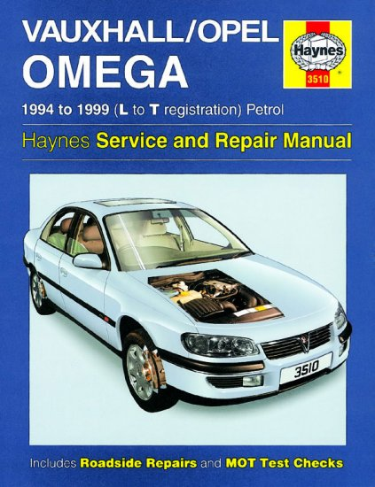 Haynes Repair Service Manual-Vauxhall/Opel Omega Petrol (94 - 99 - Click Image to Close