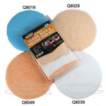 "Kent 8 Piece 9"" 10"" Polisher Buffer Pads Set"