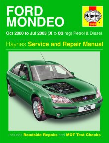 Haynes Repair Service Manual-Ford Mondeo Petrol and Diesel (Oct