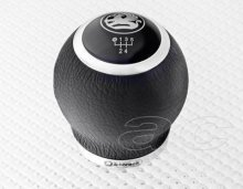 Richbrook Vauxhall Black Leather Gear Knob 5 & 6 Speed