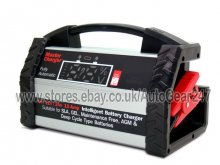 6v 12v 24v 10 Amps Heavy Duty Intelligent Fully Automatic Batter