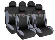 GTR Drift Grey/Black Car Seat Cover Set