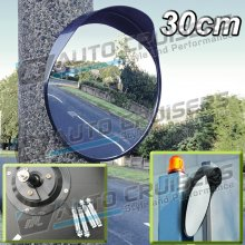 Outdoor Gate Road Bend Security 30cm Blind Spot Convex Mirror