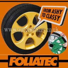 Foliatec Alloy Wheel Gold Plastic Protective Spray Paint Film