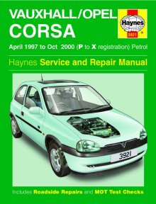 Haynes Repair Service Manual-Vauxhall/Opel Corsa Petrol (Apr 97