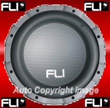 "FLI Audio Frequency FF10 800W 10"" Bass Subwoofer Sub"
