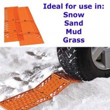 Traction Tracks Car Wheel Grips For Snow Mud Grass Sand