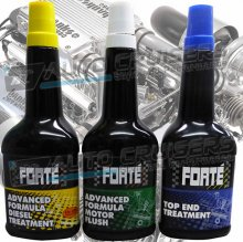 Forte Diesel Treatment, Motor Flush, Top End Treatment Package