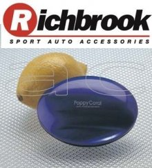 Richbrook Poppy Coral Lemon Car Air Freshener BLUE