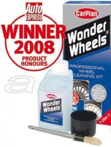 CarPlan Wonder Wheels Alloy Wheel Cleaner Kit - 1 Litre
