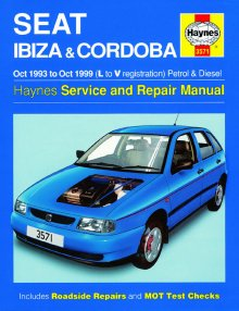 Haynes Repair Service Manual-Seat Ibiza and Cordoba Petrol and D