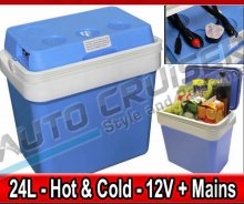12v DC, 240v AC, 24Litre Capacity Electrical Cool & Warm Box