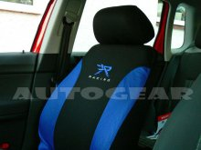 Blue Black 13pc Racing Mats,Shoulder Harness Pads,Steering & Car