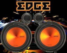 "EDGE ED305 2-WAY 210W 5"" 5.25"" CAR COMPONENT SPEAKERS"
