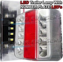 Ring RCT445 LED Trailer Lamp with Number Plate LEDs