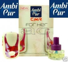 Ambi Pur Car Air Freshener For Her Fragrance Smell