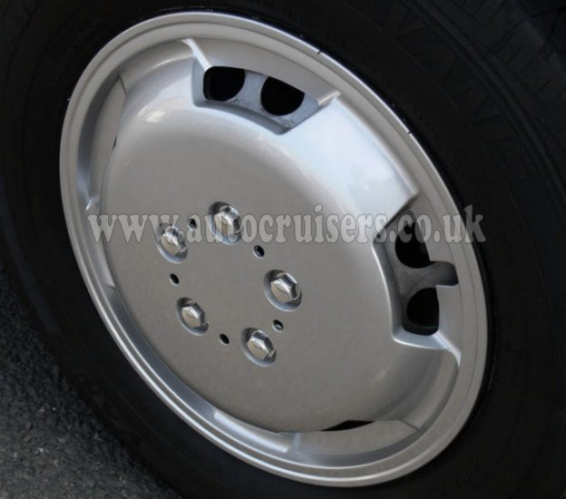"16"" ABS Plastic Car Van Deep Dish Domed Raised Wheel Trim Covers - Click Image to Close"