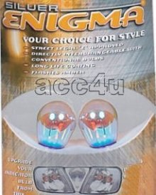 Silver Enigma 581 Blue Amber Flashing Indicator Bulbs**