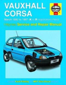 Vauxhall corsa b owners manual handbook folder book pack & combo.