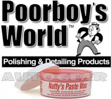 Poorboys World Natty's Paste Wax Red