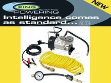Ring Heavy Duty Car Tyre Air Compressor Inflator RAC900
