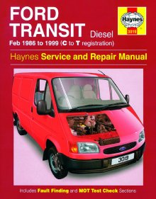 Haynes Repair Service Manual-Ford Transit Diesel (Feb 86 - 99) C