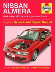 Haynes Repair Service Manual-Nissan Almera Petrol (95 - Feb 00)