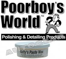 Poorboys World Natty's Paste Blue Wax