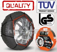 Car Tyre 9mm TUV Approved N90 Snow Chains 15,16,17 &18""