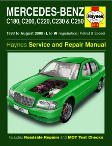 Haynes Repair Service Manual-Mercedes-Benz C-Class Petrol and Di