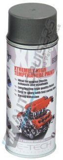 E Tech XHT Graphite High Temperature Spray Paint