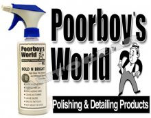 Poorboys World Bold N Bright Tire Dressing Cleaner