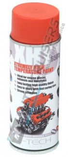 E Tech XHT Red High Temperature Spray Paint