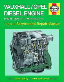 Haynes Repair Service Manual-Vauxhall/Opel 1.5, 1.6 and 1.7 litr