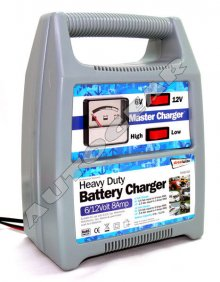 6v 12v 8A Car Van 4x4 Marine Motorcycle Battery Charger
