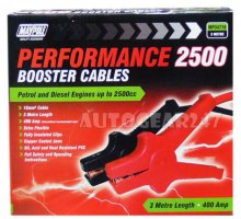 Heavy 16mm 3M 400A 2500CC Jump Leads Booster Cables