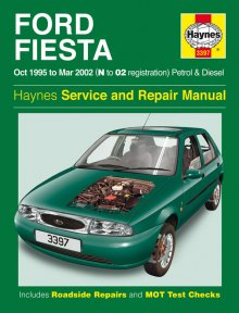 Haynes Repair Service Manual-Ford Fiesta Petrol and Diesel (Oct