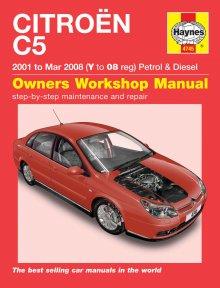 haynes repair service manual citroen c5 petrol diesel. Black Bedroom Furniture Sets. Home Design Ideas