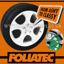 Foliatec Alloy Wheel G White Plastic Protective Spray Paint Film