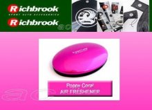 Richbrook For Her Pink Poppy Coral Lemon Air Freshener
