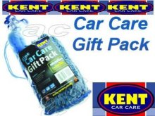 For Him Blue Car Care Valeting Gift Pack in Duffle Bag