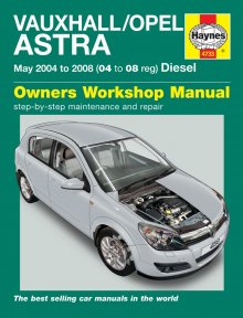 Haynes Repair Service Manual-Vauxhall/Opel Astra Diesel (May 04