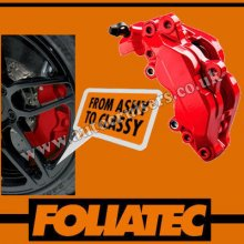 Foliatec Brake Caliper Engine Paint Red Lacquer High Temp